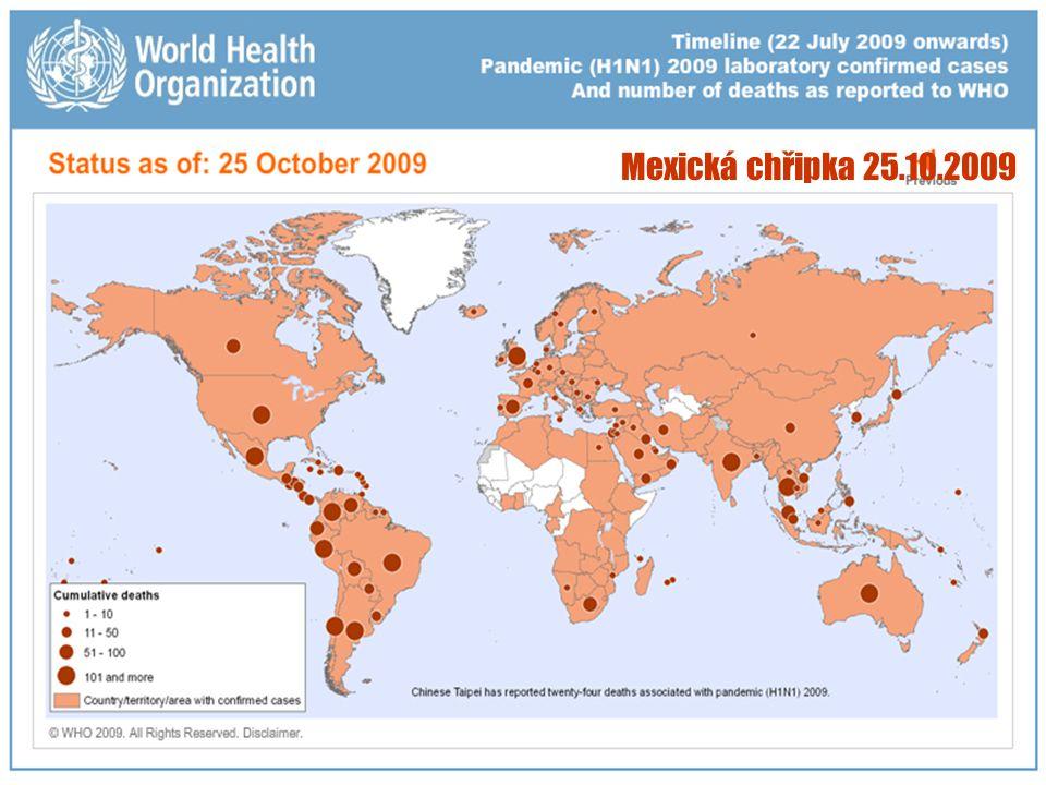 28 Mexická chřipka 25.10.2009
