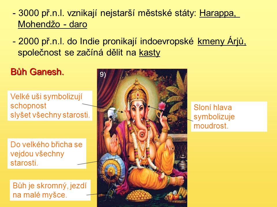 Hinduismus - nejstarší z dnešních světových náboženství (15.stol.