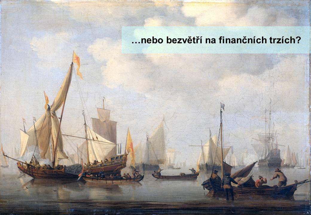 …nebo bezvětří na finančních trzích