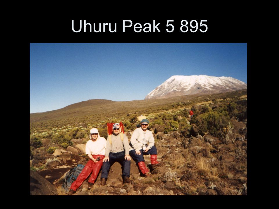 Uhuru Peak 5 895