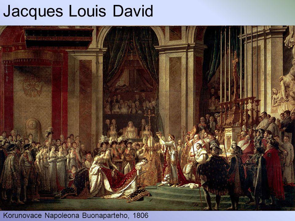 Jacques Louis David Korunovace Napoleona Buonaparteho, 1806