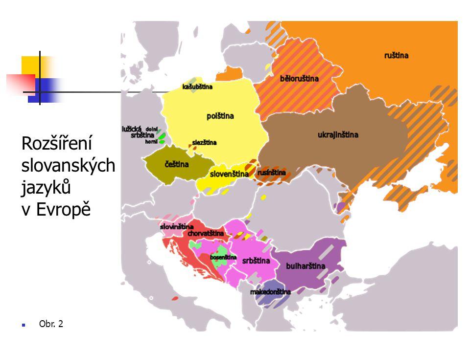 Písmo slovanských jazyků 1.