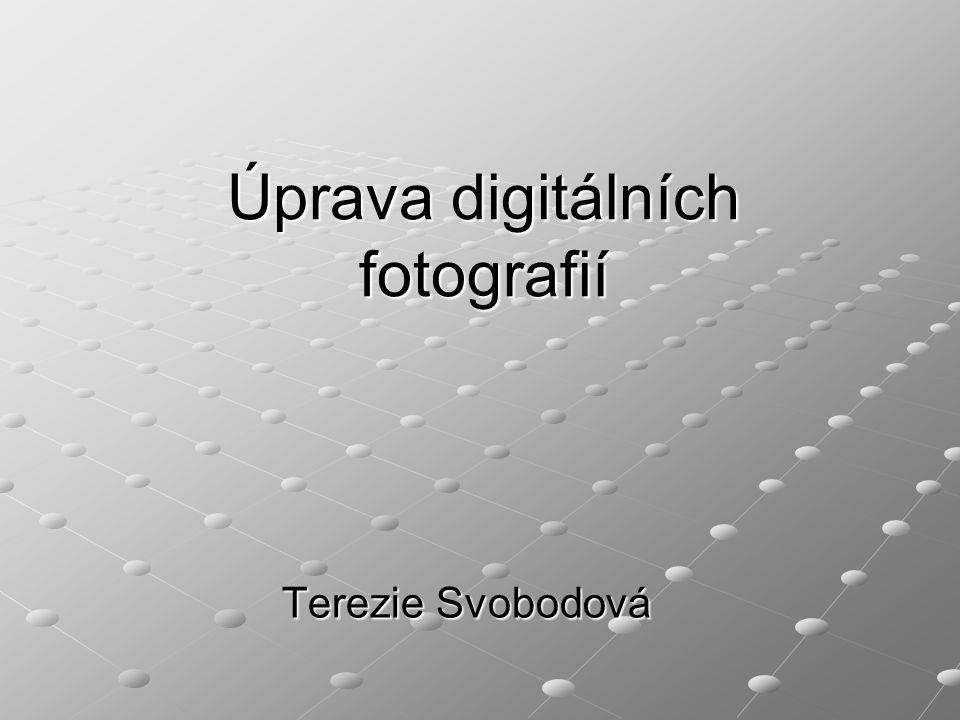 Úprava digitálních fotografií Terezie Svobodová