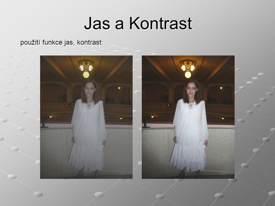 Seřez obrázků/nastavení velikosti plátna Slouží k úpravě kompozice, nebo k odříznutí nehezké či rušivé části fotografie Tato funkce bývá velice jednoduchá.