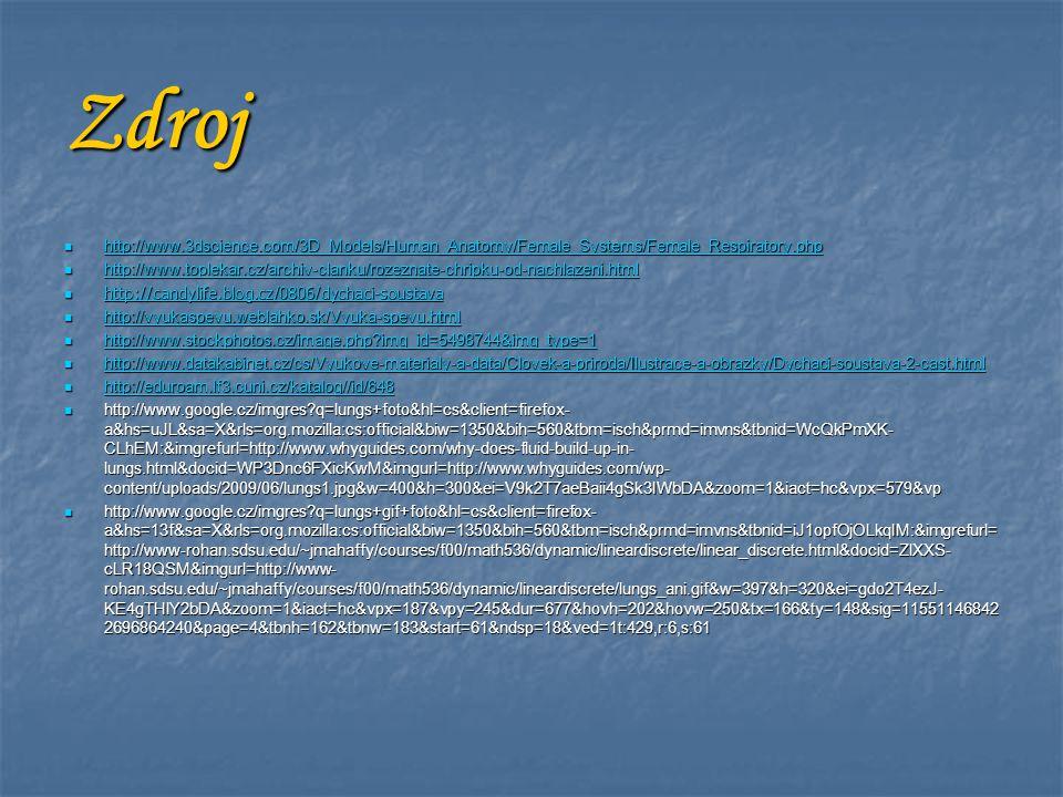 Zdroj http://www.3dscience.com/3D_Models/Human_Anatomy/Female_Systems/Female_Respiratory.php http://www.3dscience.com/3D_Models/Human_Anatomy/Female_S