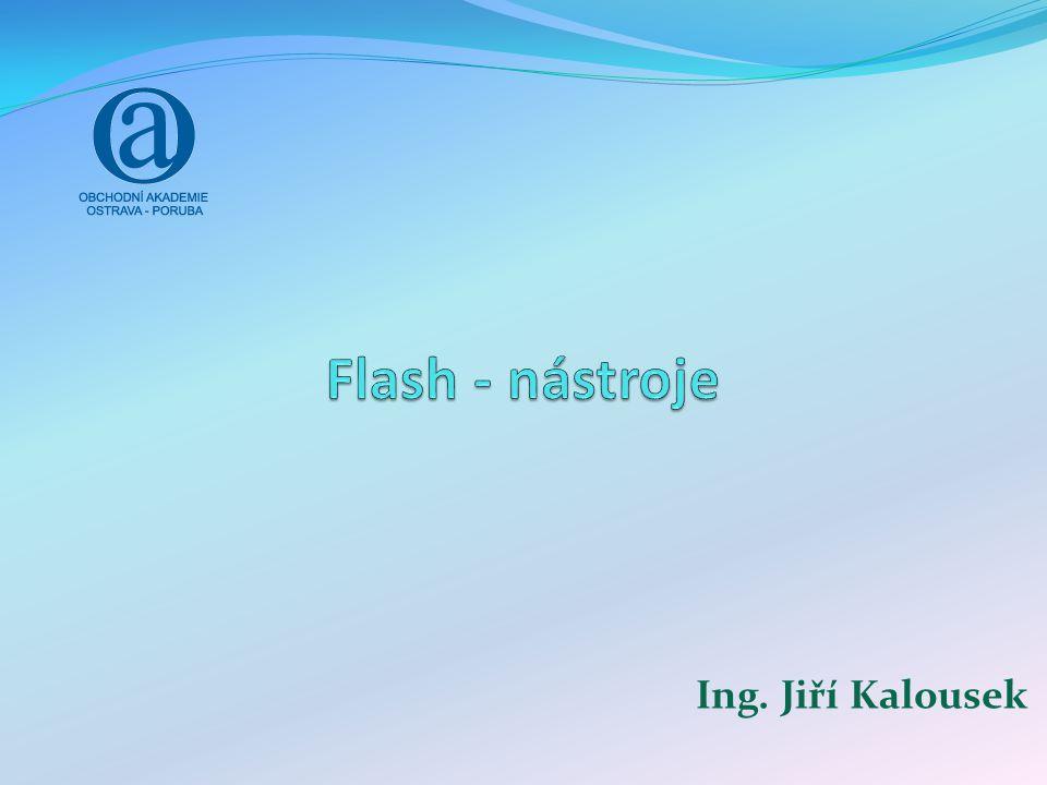 Flash Grafický vektorový program Obsahuje vestavěný programovací jazyk Vhodný pro: Interaktivní animaci (bannery, dynamické stránky,…) Prezentace Animované videa Jednoduché webové hry