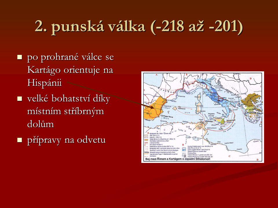 1. punská válka (-264 až -241) na souši vítězí Římané, na moři úspěšnější Kartaginci na souši vítězí Římané, na moři úspěšnější Kartaginci Římané budu