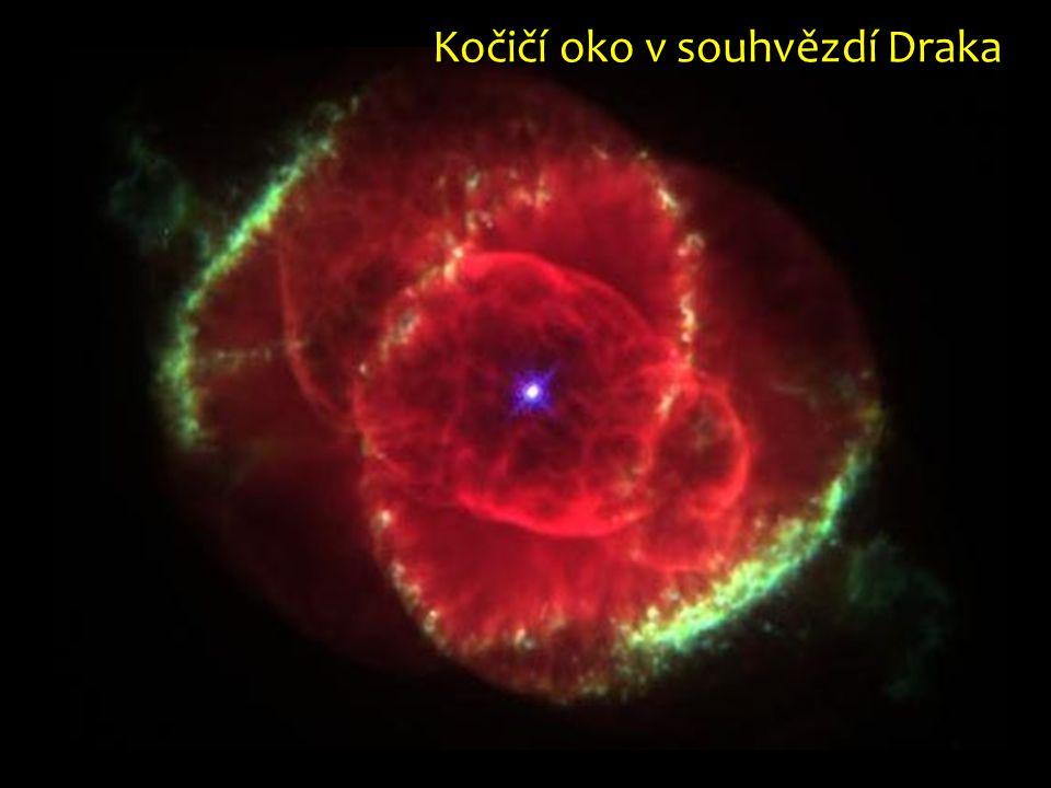 Kočičí oko v souhvězdí Draka