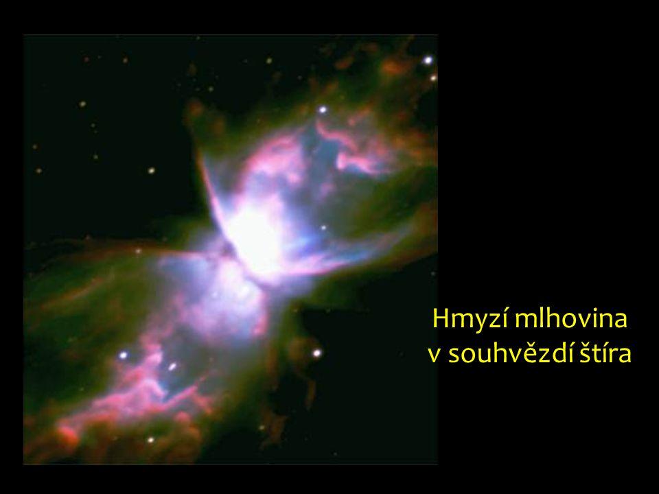 Hmyzí mlhovina v souhvězdí štíra