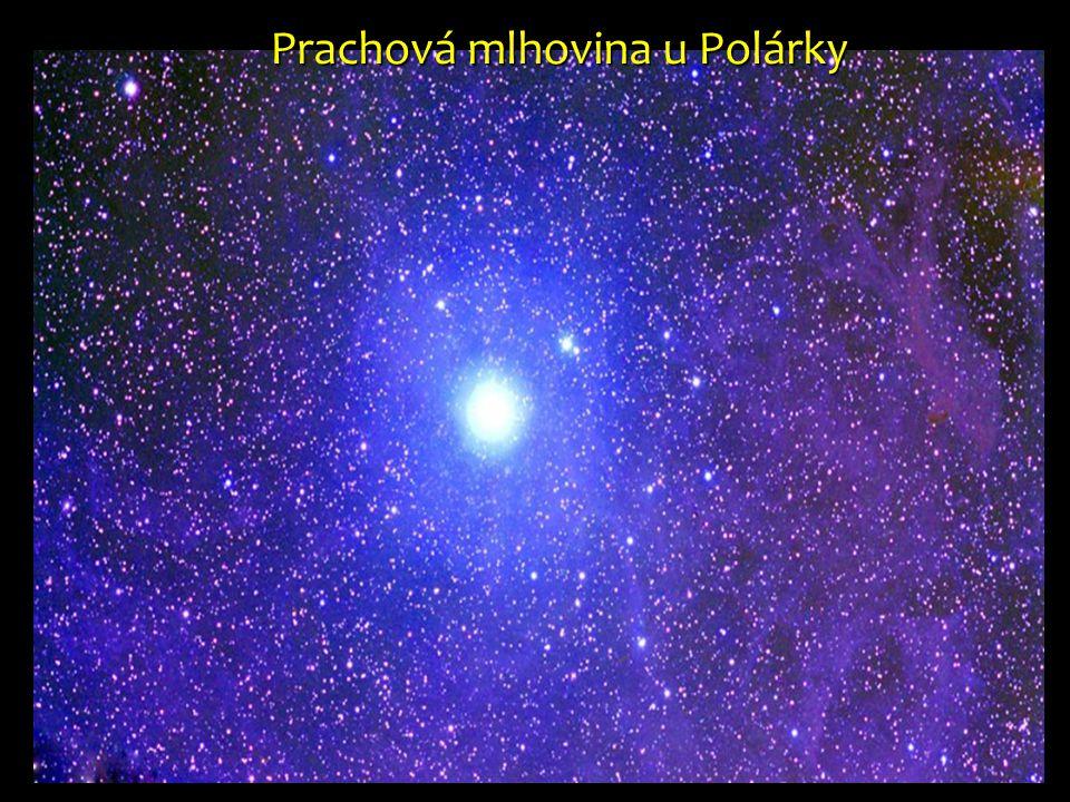 Prachová mlhovina u Polárky