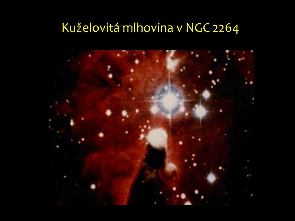 Kuželovitá mlhovina v NGC 2264