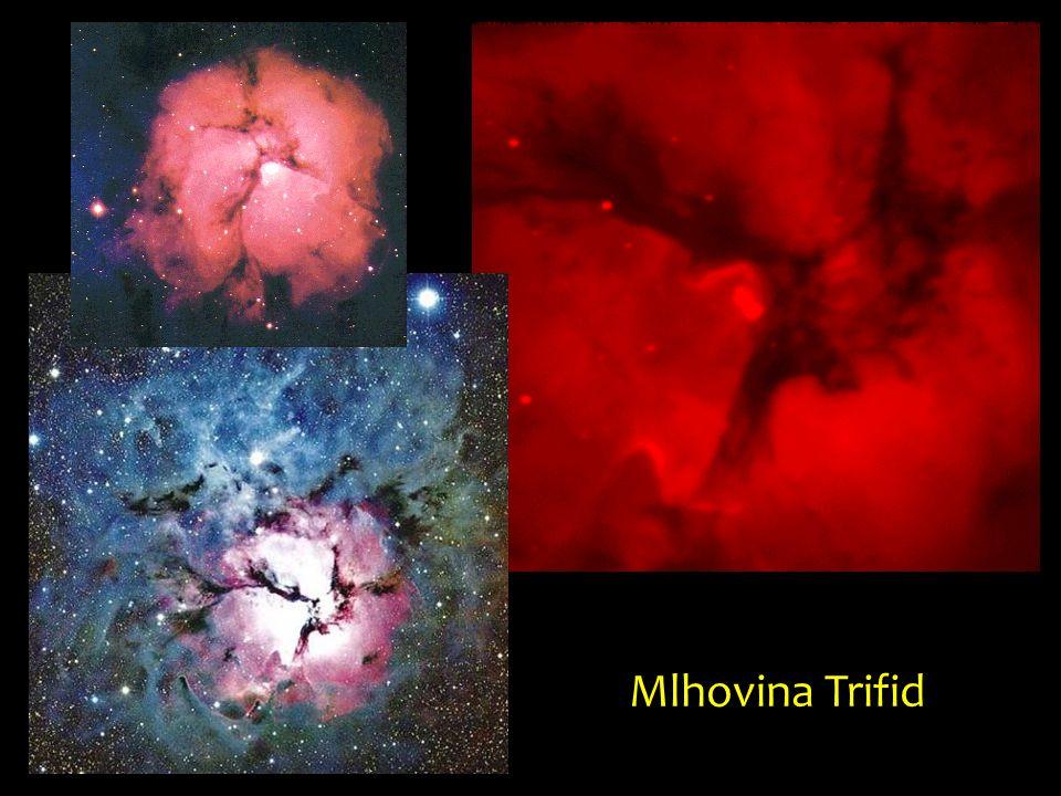Tarantule je velmi velká, pouhým okem viditelná mlhovina nacházející se v galaxii Velké Magellanovo mračno.