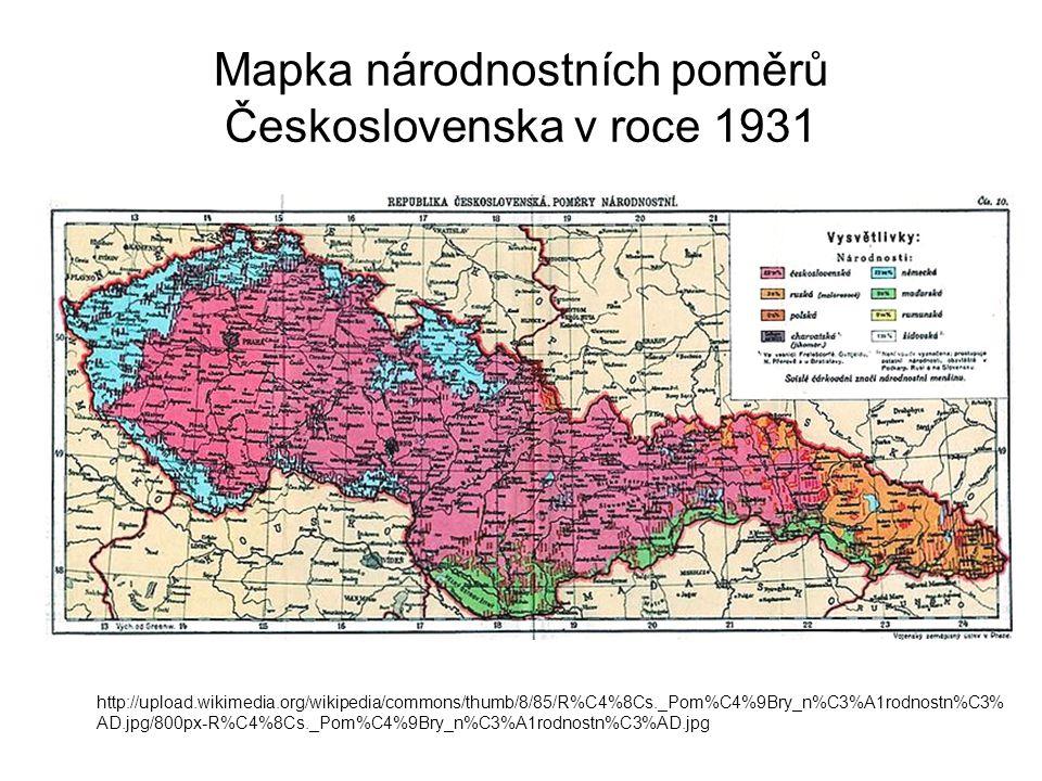 """Příčiny """"Již v roce 1932 prohlásil Adolf Hitler v Mnichově následující: Českou pánev a Moravu a východní regiony na hranici Německa osídlíme německými sedláky."""