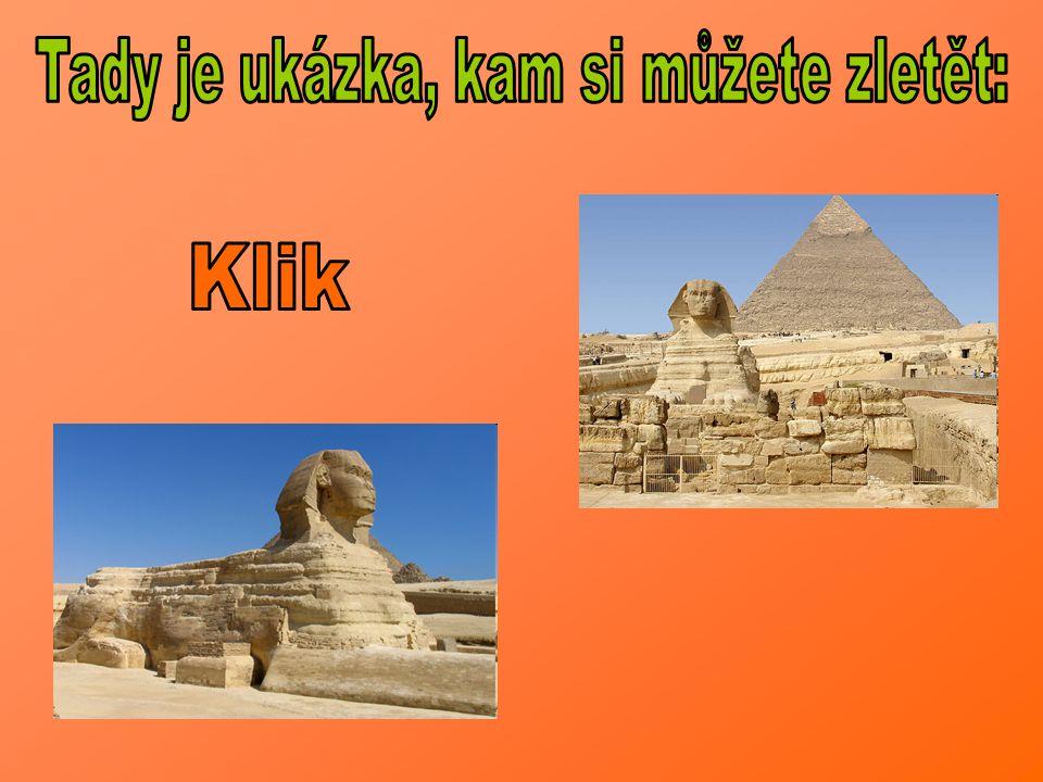 Velká Sfinga v Gíze je víc než jen národním symbolem Egypta.
