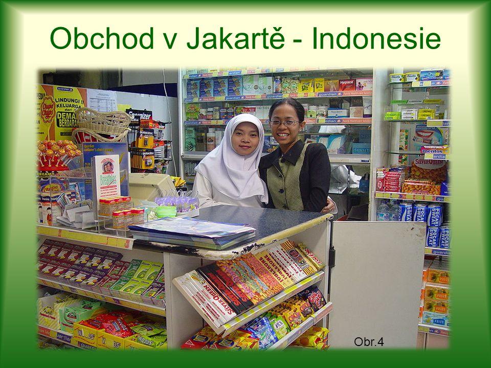 Obchod v Jakartě - Indonesie Obr.4