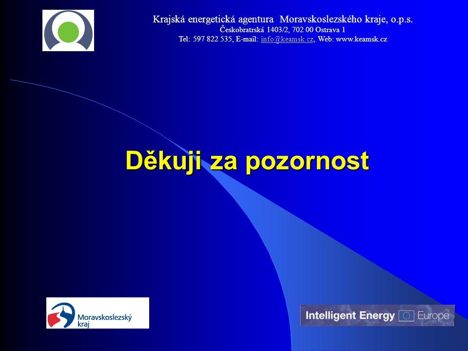 Děkuji za pozornost Děkuji za pozornost Krajská energetická agentura Moravskoslezského kraje, o.p.s.