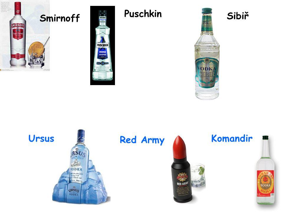 Po VŘSR došlo ke znárodnění a monopolizaci průmyslu výroby vodky. Z Ruska uprchli staří osvědčení výrobci a založili výrobu v zemích kde žili. Vznikly