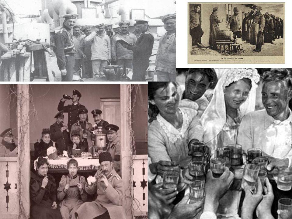 Po VŘSR došlo ke znárodnění a monopolizaci průmyslu výroby vodky.