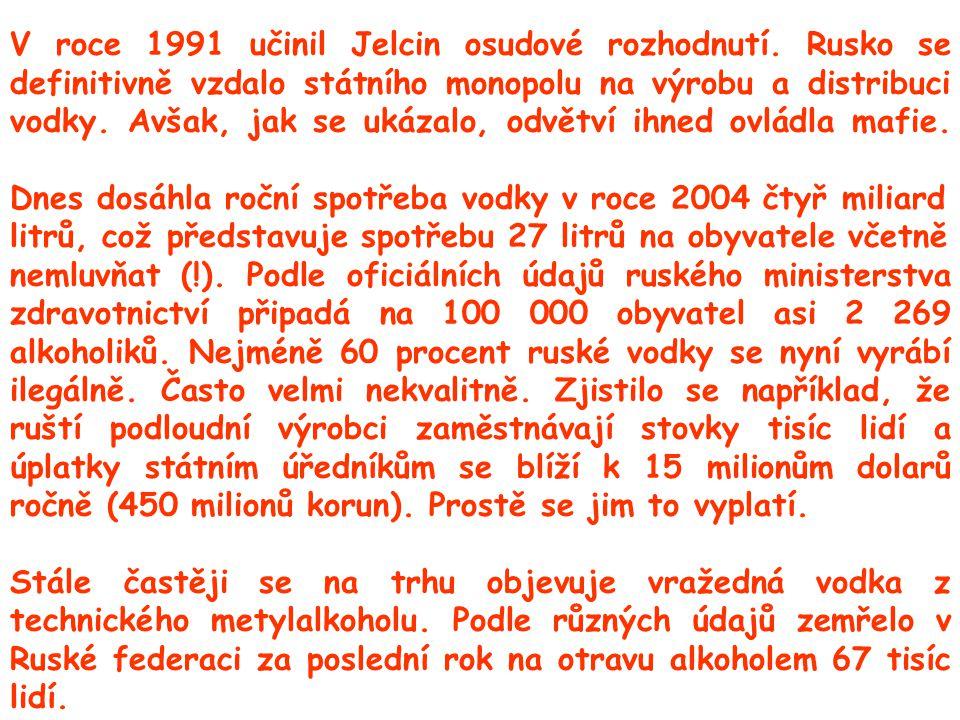 V roce 1991 učinil Jelcin osudové rozhodnutí.
