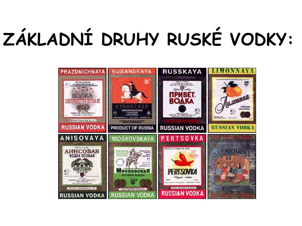 Hasící přístroj s návodem k použití… Vodka je všudypřítomná