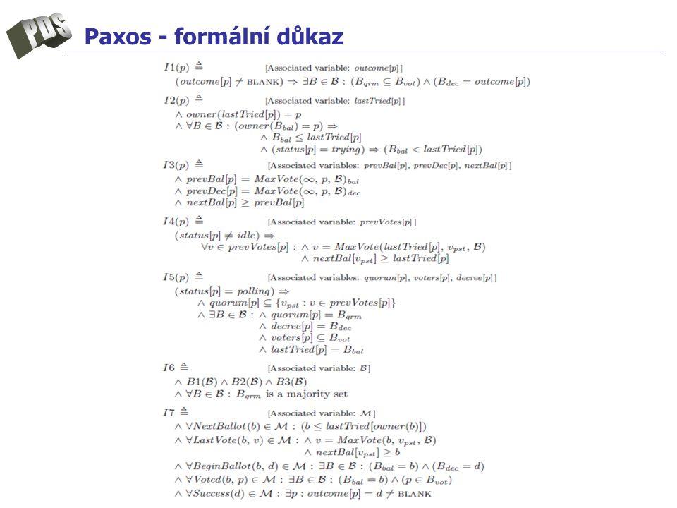 Paxos - formální důkaz