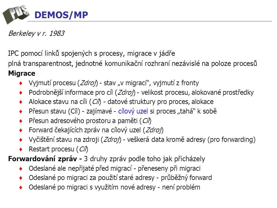 DEMOS/MP Berkeley v r.