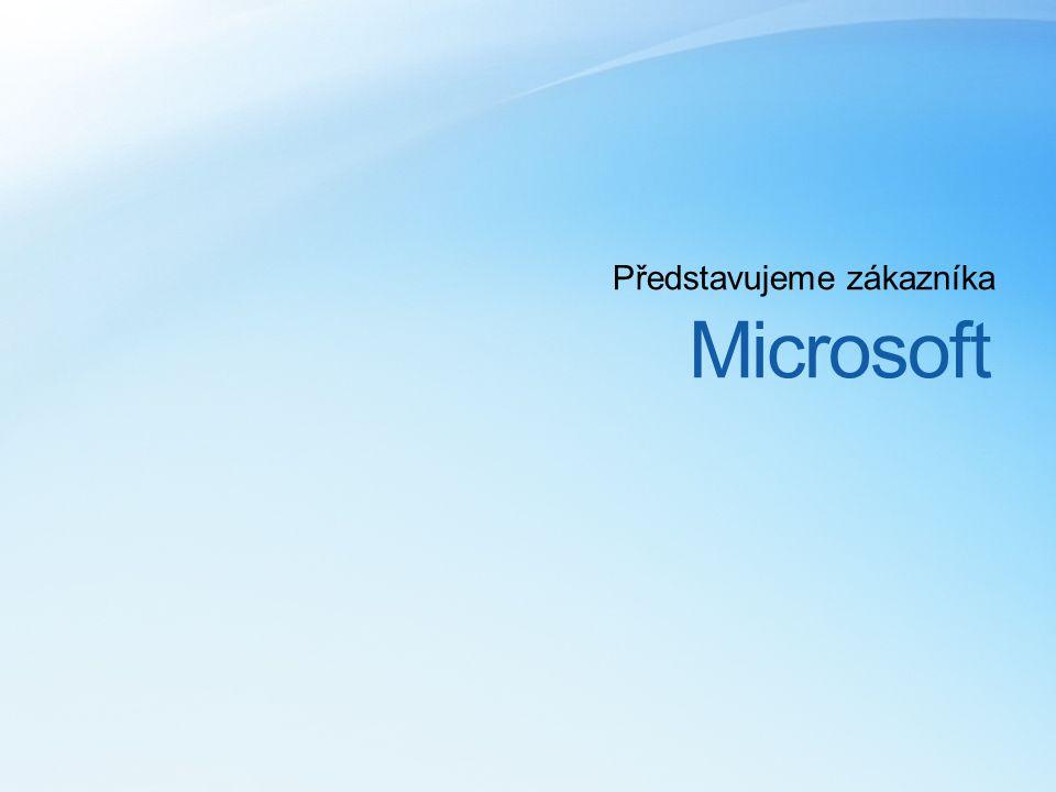 Microsoft Představujeme zákazníka