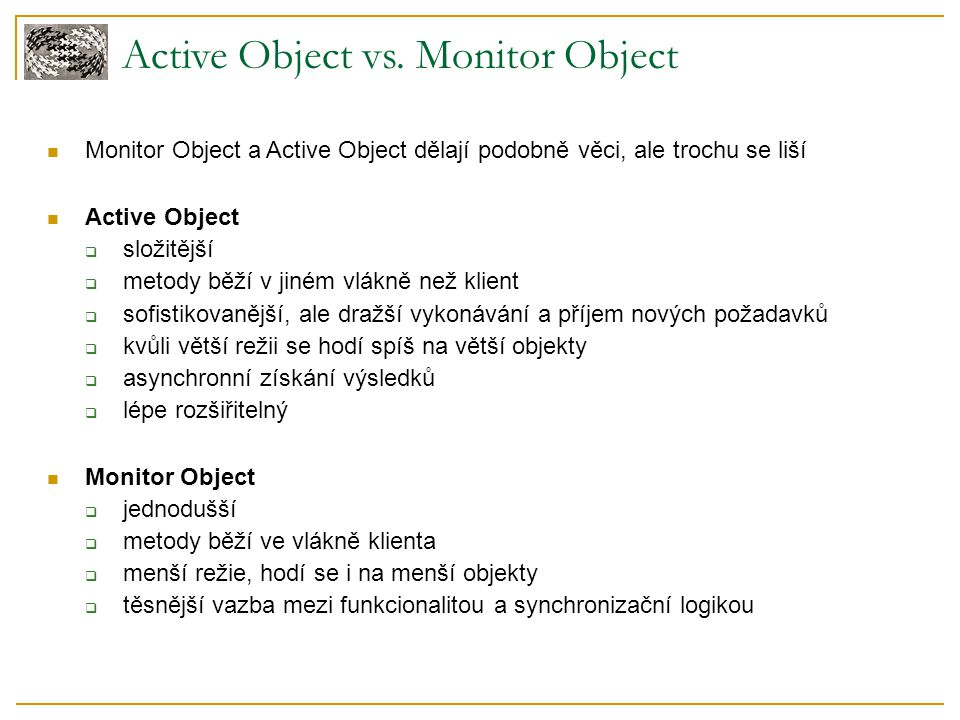 Active Object vs.