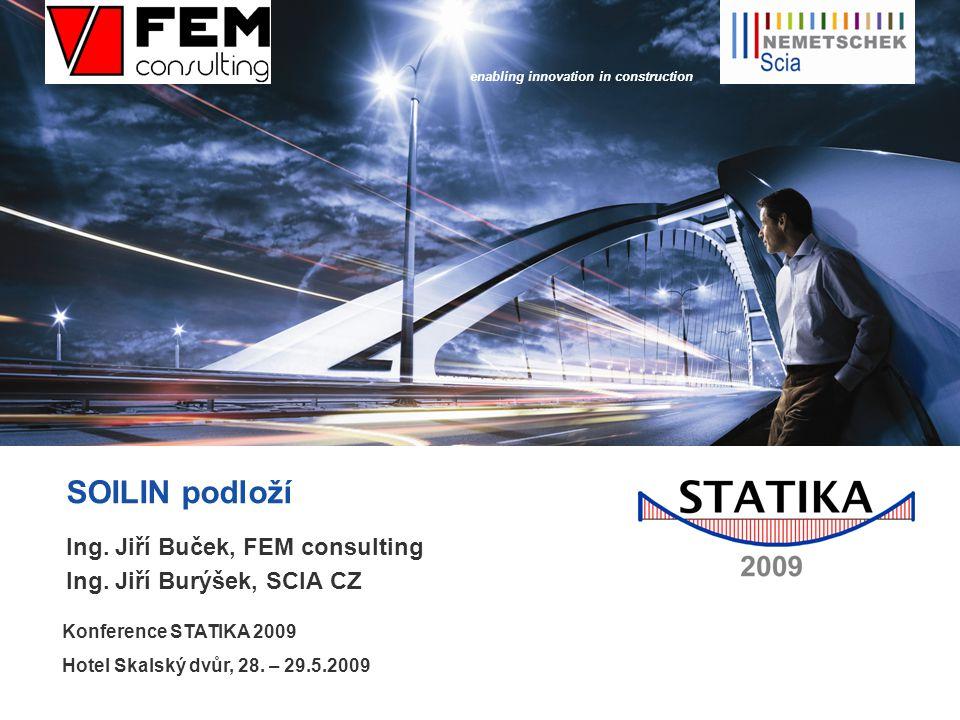 enabling innovation in construction SOILIN podloží Ing.