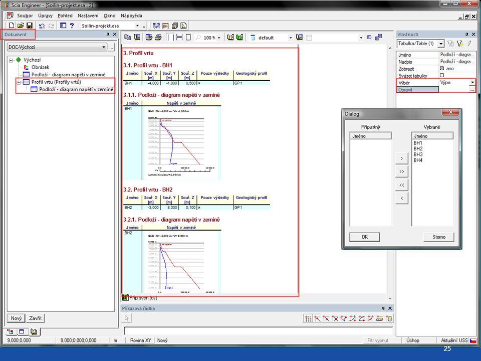 ChapterMaker pro diagram napětí v zemině (opakovací grafy) 25