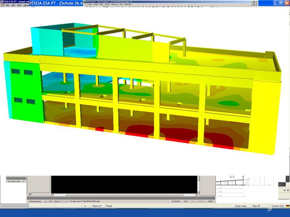 Ukázky různých konstrukcí řešených SOILINem 27