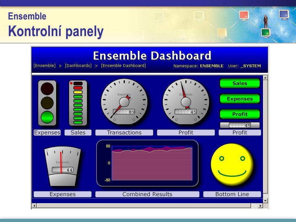 Ensemble Kontrolní panely