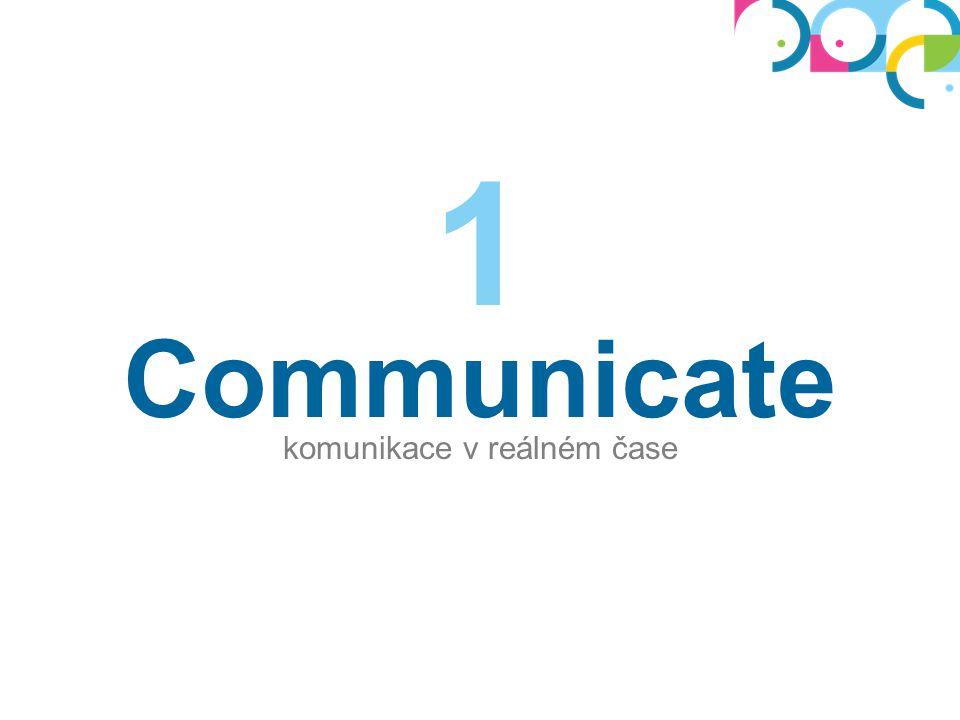 Communicate komunikace v reálném čase 1