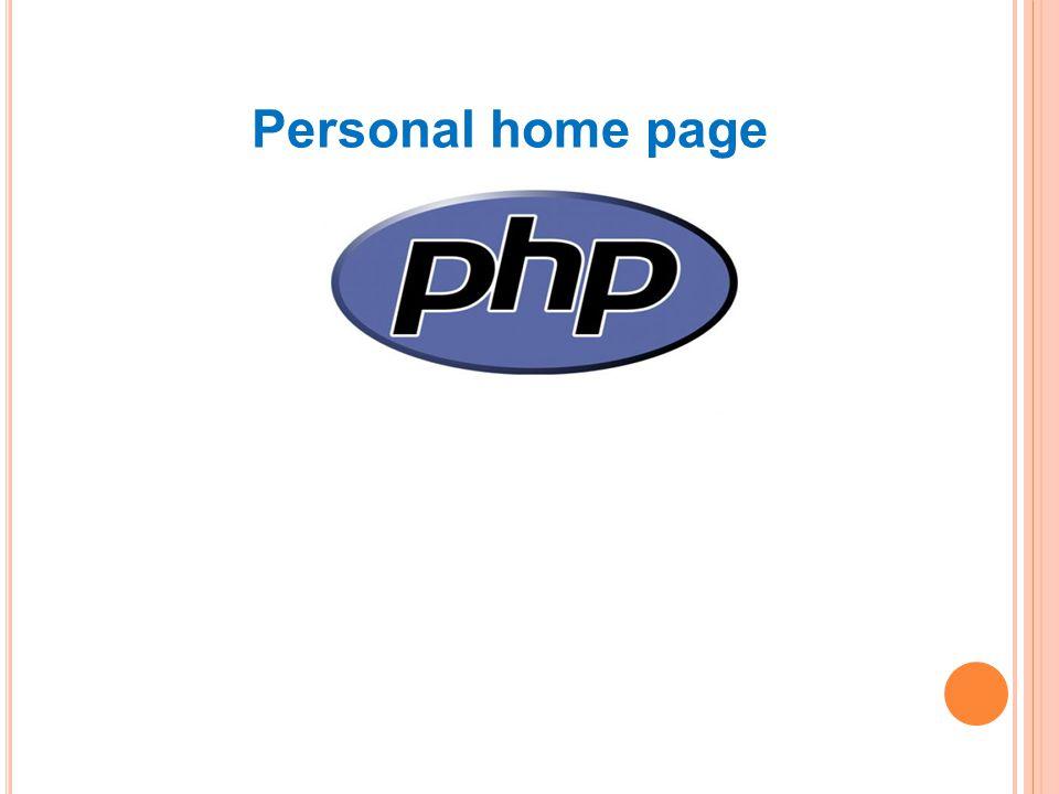 Personal home page Skriptovací programovací jazyk Vhodné pro DHTML Výhody – jednoduchost, počet funkcí Nevýhody – není kompletně definován