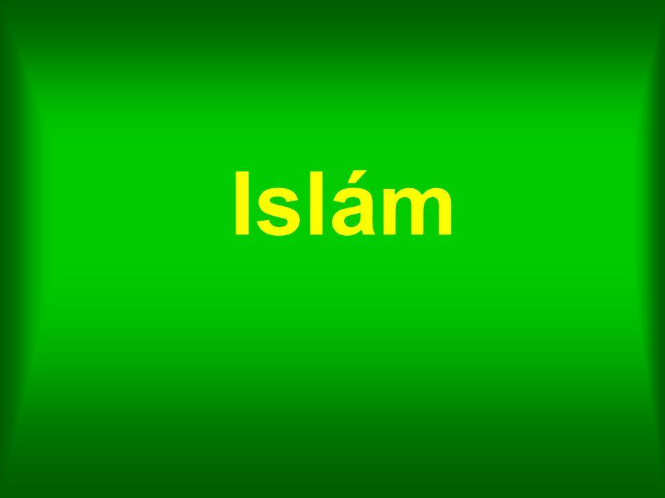 Křesťanství 2.100 mil.Islám1.300 mil. Bez vyznání1.100 mil.