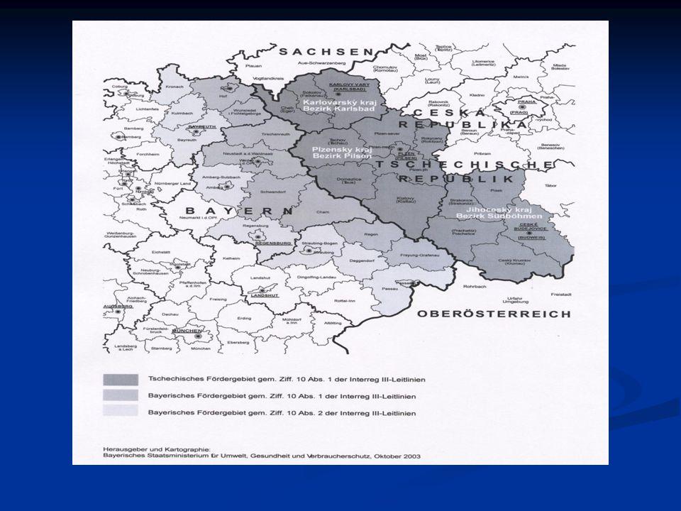Základní informace o programu: Iniciativa INTERREG III byla na česko- bavorském příhraničí na české straně vyhlášena v červenci 2004.