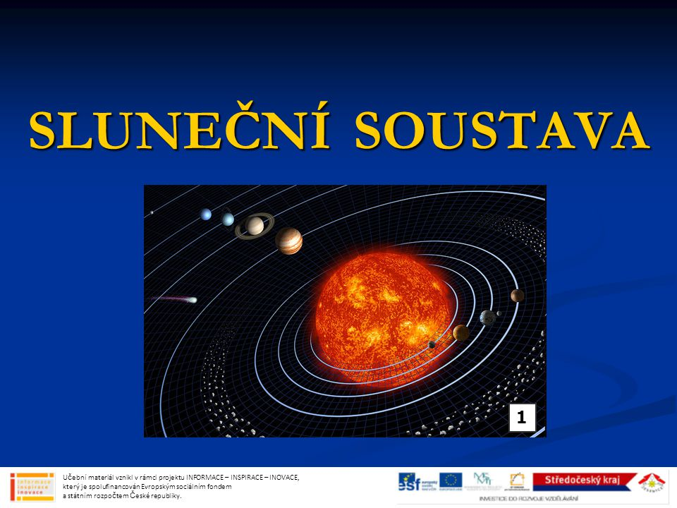 POHYBY MĚSÍCE NOV NOV Měsíc je mezi Sluncem a Zemí Měsíc je mezi Sluncem a Zemí Měsíc nevidíme Měsíc nevidíme MĚSÍC DORŮSTÁ MĚSÍC DORŮSTÁ úzký srpeček ve tvaru D, který se zvětšuje úzký srpeček ve tvaru D, který se zvětšuje zapadá později zapadá později Učební materiál vznikl v rámci projektu INFORMACE – INSPIRACE – INOVACE, který je spolufinancován Evropským sociálním fondem a státním rozpočtem České republiky.