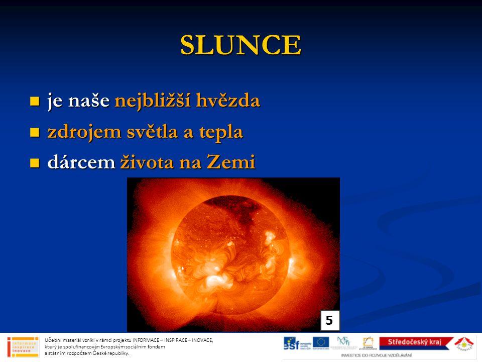 URAN sedmá a třetí největší planeta od Slunce sedmá a třetí největší planeta od Slunce nevýrazné prstence a 27 měsíců nevýrazné prstence a 27 měsíců modrozelená barva modrozelená barva kapalný povrch kapalný povrch Učební materiál vznikl v rámci projektu INFORMACE – INSPIRACE – INOVACE, který je spolufinancován Evropským sociálním fondem a státním rozpočtem České republiky.