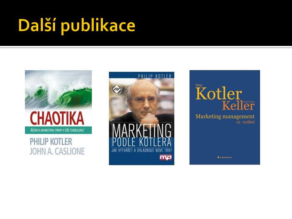 Philip Kotler Live in Prague again Winning Marketing Ideas to Escape the Economic Hardship Summit Termín: 19.