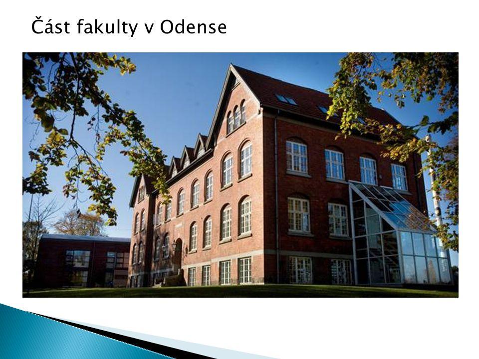 Část fakulty v Odense