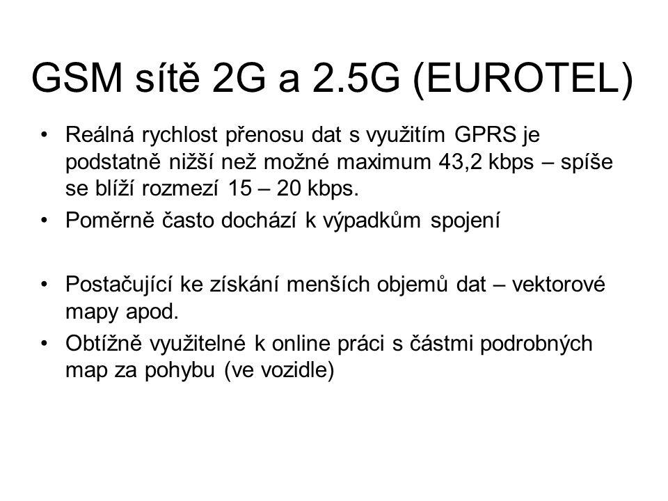 Reálná rychlost přenosu dat s využitím GPRS je podstatně nižší než možné maximum 43,2 kbps – spíše se blíží rozmezí 15 – 20 kbps. Poměrně často docház