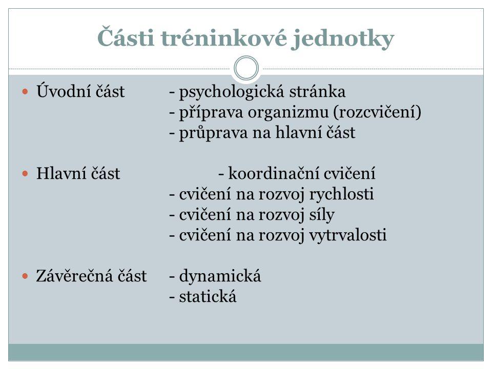 Zásady rozvoje koordinace 1.