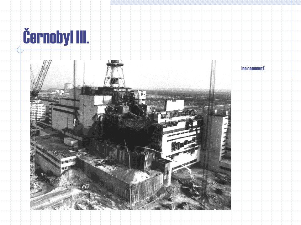 Černobyl v grafech II. [rozptyl akrivních částic šest dnů po havárii]