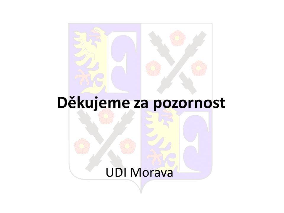 Děkujeme za pozornost UDI Morava