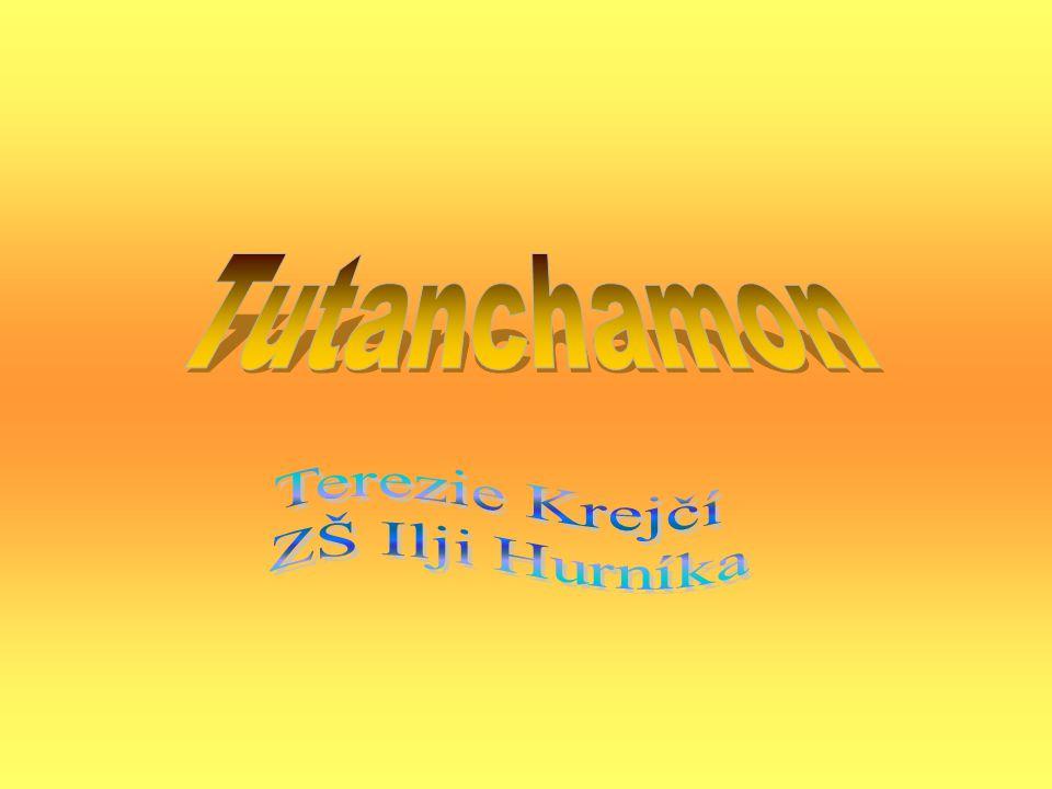 Tutanchamon jeho manželka a otec Ahoj.Jmenuji se Achnaton a jsem otec Tutanchamona Ahoj.