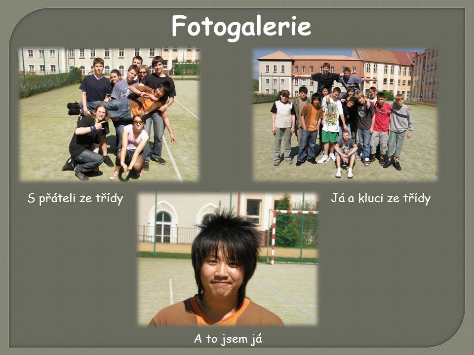 S přáteli ze třídyJá a kluci ze třídy A to jsem já Fotogalerie