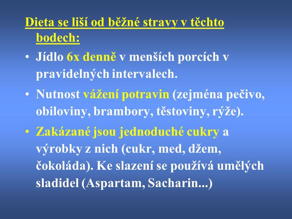 Omezené množství tuků = * libové maso (vhodné: králičí, kuřecí, rybí, telecí; nevhodné: uzeniny, tučná masa, uzené, mleté maso z obchodu, šunka) * mléčné výrobky s nízkým obsahem tuku (vhodné: nízkotučné mléko, biokys, kefír, sýry do 30% tuku, tvaroh, tvarůžky, žervé; méně vhodné: plnotučné mléko, šlehačka, smetana i zakysaná, Hermelín, Niva, uzené sýry...) * vejce 1 - 2 ks týdně