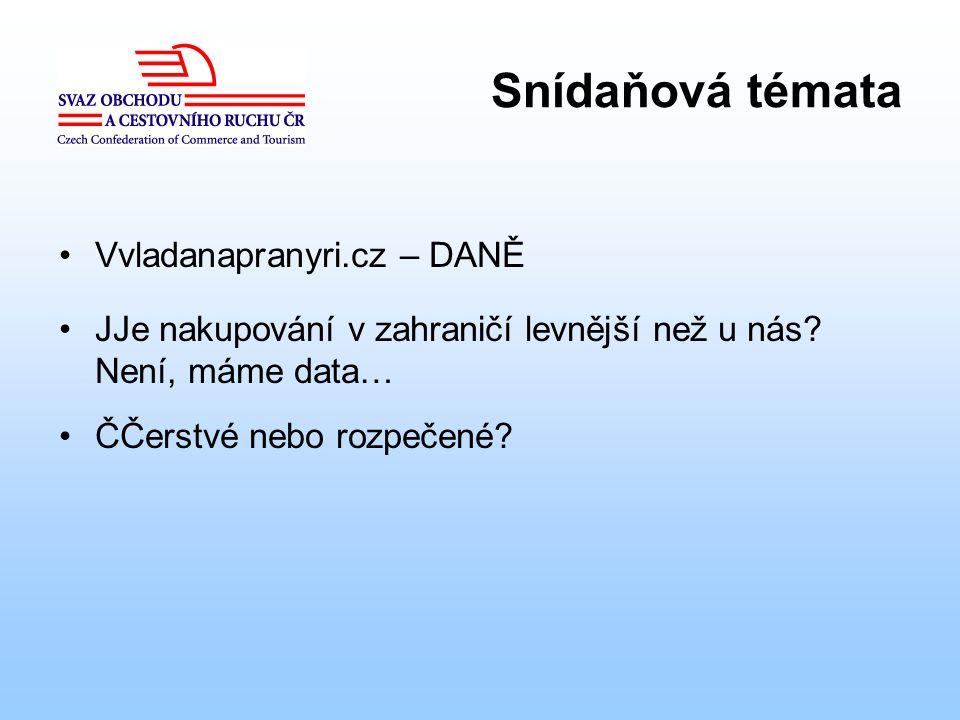Snídaňová témata Vvladanapranyri.cz – DANĚ JJe nakupování v zahraničí levnější než u nás.
