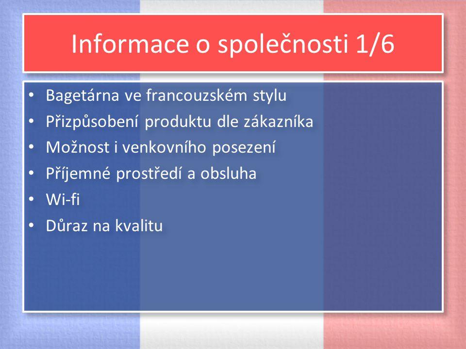 Informace o společnosti 2/6 Umístnění Brno, zastávka Zemědělská tram.