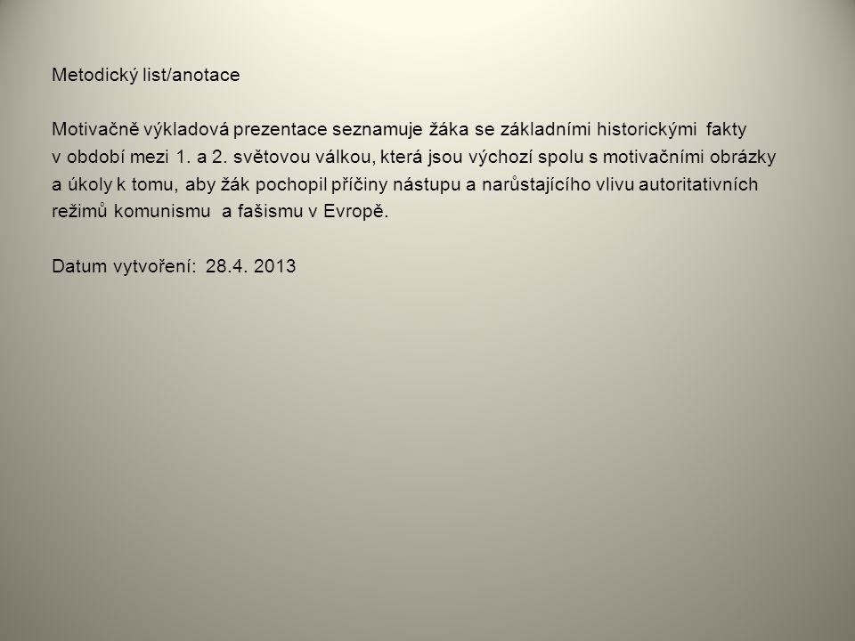 Odkazy: Použité zdroje: internet Dostupné pod licencí GNU Free Documentation License na www: Obrázek č.